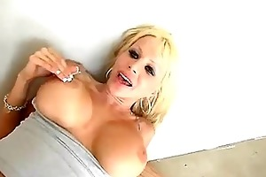 lusty momma danielle derek bounces her tempting