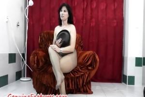 hose fetish joy with real mother i in backstage