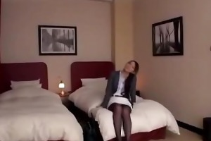 japanese girls attacked hawt mother in sofa