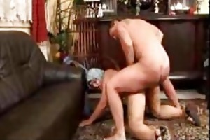 grandma drilled from behind