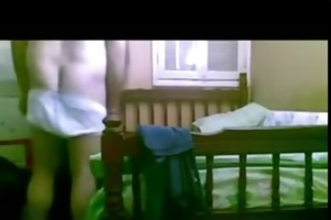 indian wife drilled hard by her fellows