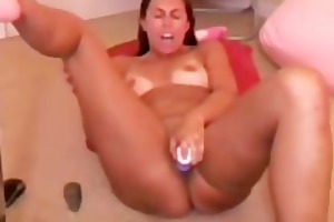 hawt brunette hair mother i toying her cunt
