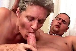 lusty grandmas and youthful males compilation
