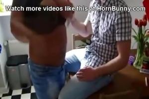 step mamma gives her step-son a blwojob