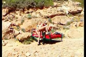 helen duval butt screwed on the beach.