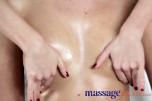 massage rooms breathtaking lesbian nubiles give