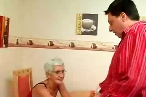 insatiable granny just t live without jock !
