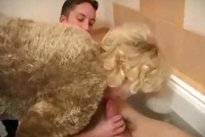babysitter acquires cock