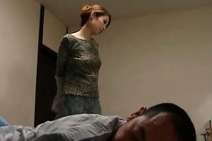 asian wife sucks and copulates boyfriend part4