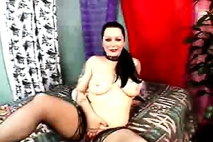 carnal big beautiful woman drilled with nylons on