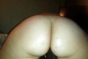 wifey tickling the tip of my cock with her cool
