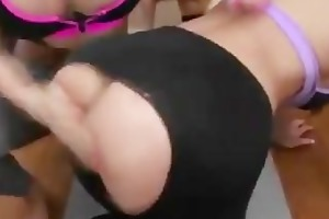 cumswapping milfs at yoga lesson