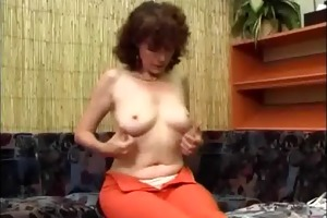 [ clipsexvip.com ] dildo unshaved with granny a
