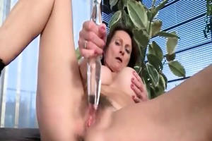 naughty older doxy acquires lascivious taking