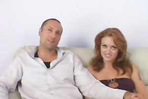 redhead seductress pounds recent cock