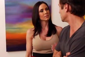 hot kendra longing receives large bra buddies