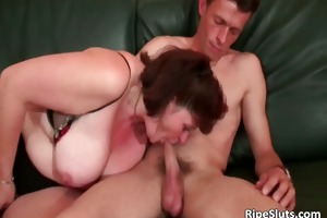 brunette hair older bulky slut acquires her