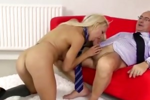 real older chap gets oral-sex from british legal