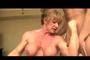 man can muscle woman domination bvr