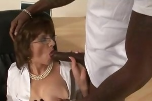 lady sonia interracial black oral sex