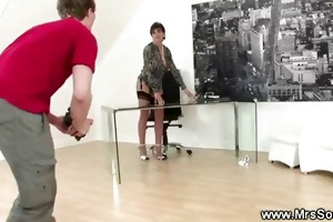 cheating wife receives sexy at photoshoot and