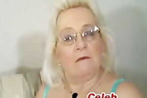 blond granny oral-service
