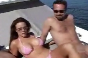 woman takes a boat ride acquires screwed in the