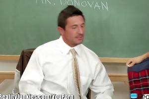 realityjunkies lustful schoolgirl rides teacher