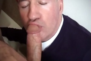 str8 coarse bald head construction guy acquires a