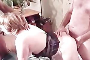 fantastic double penetration session