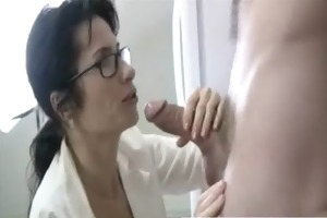 mom taking weenie in pov style