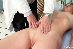 nada visits her gyno doctor for older wet crack