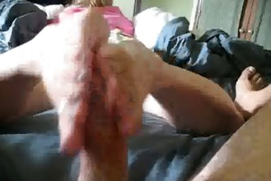 excellent footjob from pleasant wife