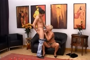 blond aged having gap fisted hard