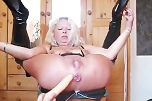 perverted wife acquires arse fisted hard and