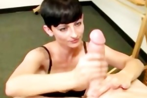 pixie chick can tugging hard weenie