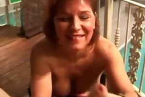breasty aged mommy can to jack off and impure talk
