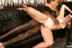 granny acquires screwed by a giant cock!