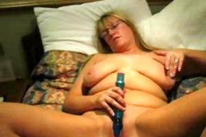 hawt masturbation of my aged wife. homemade movie