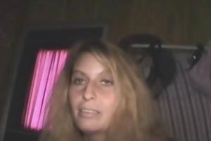 bawdy golden-haired dilettante crack slut sucks