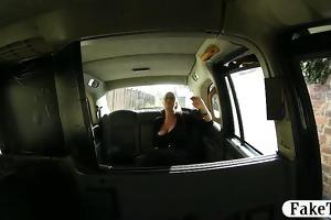biggest boobs slutty customer in glasses screwed