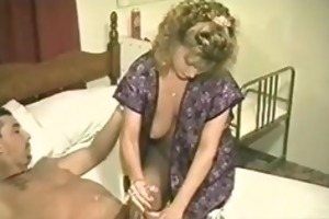 this is a vintage interracial porno where a blac
