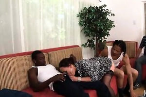 wife fucked by two dark dongs during the time