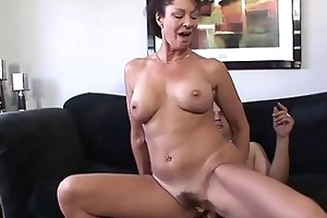 sexy aged angel receives her shaggy wet crack