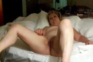pervert mature wife masturbating in front of hubby
