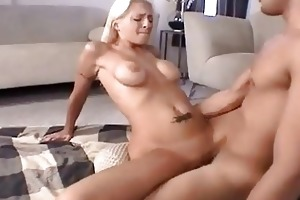 breasty blond milf receives nailed