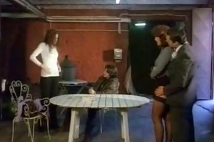 a impure foursome fuck in a factory