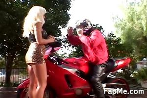 hawt doxy wanking a bikers jock