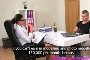 femaleagent promise of a large wage is the key to
