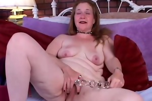 aged amateur bonks her moist vagina